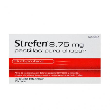 Strefen8.75 Mg 16 Pastillas Par