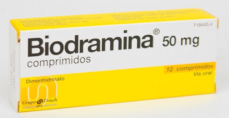 Biodramina50 Mg 12 Compr