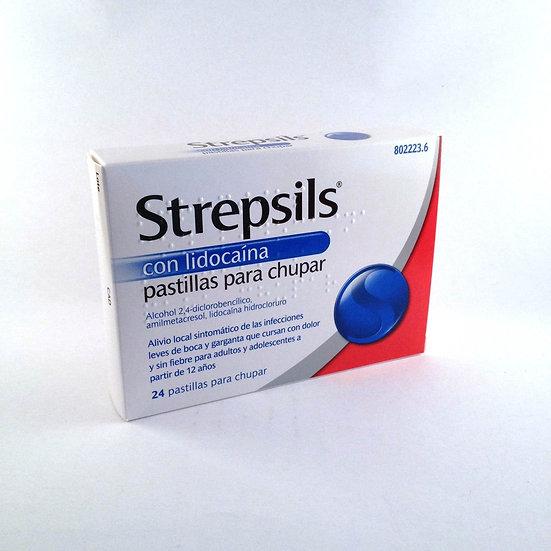 Strepsils Con Lidocaina24 Pastillas Para Chupar