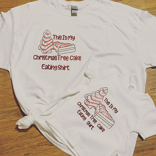 Christmas Tree Cake shirts! Mommy and Me