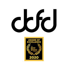 DDFD Dominic Dufort Fashion Designer Logo Best Brand Awards 2020