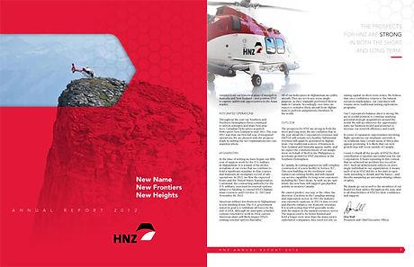 Rapport annuel pour Hélicoptères HNZ (devenu PHI International)