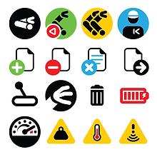 Kit d'icônes pour Kinova Robotics