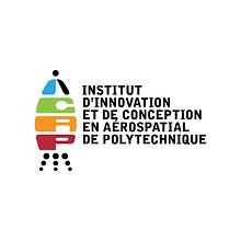 Logo of IICAP Institut d'innovation et de conception en aérospatiale de Polytechnique