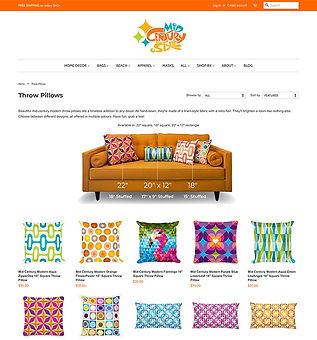 Site Web de Mid Century Style Shop