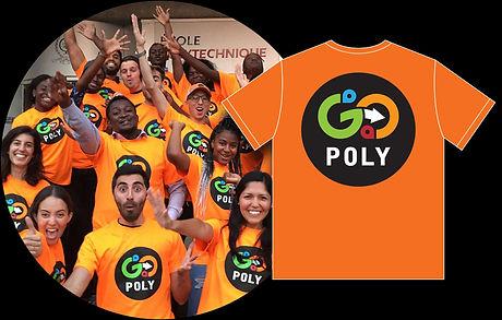 T-Shirts pour GoPoly de Polytechnique Montréal