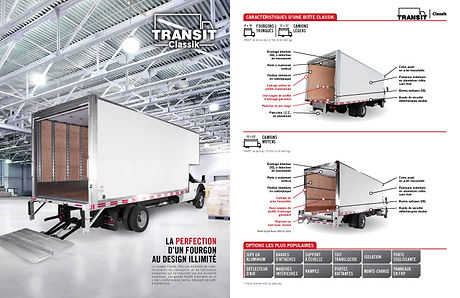 Transit Truck Bodies Product Brochure