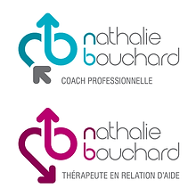 Nathalie Bouchard Therapist and Coach Logos