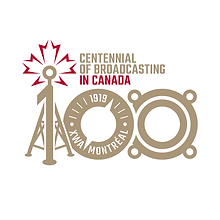 Centennial of Broadcasting in Canada logo