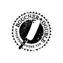 Boucher Double Steak House Restaurant Logo