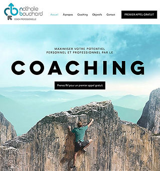Site Web de Nathalie Bouchard Coaching
