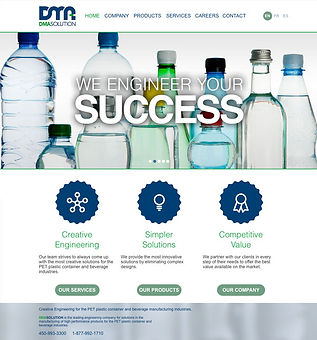 DMA Solution Website Design and Production