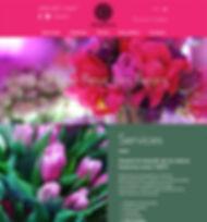 Florist Elysee Fleurs Website Design