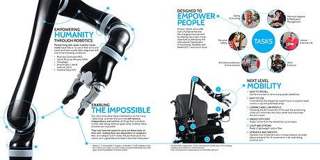 Brochure produit pour Kinova Robotics