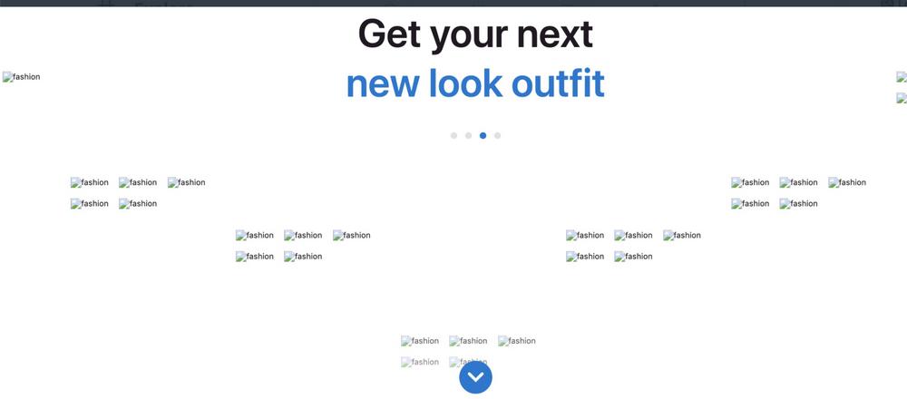 Image showing a website with no clear descriptive alt texts.