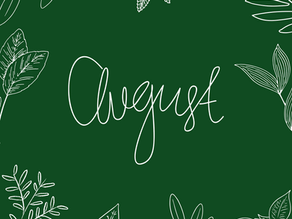Month in Review: August 2021