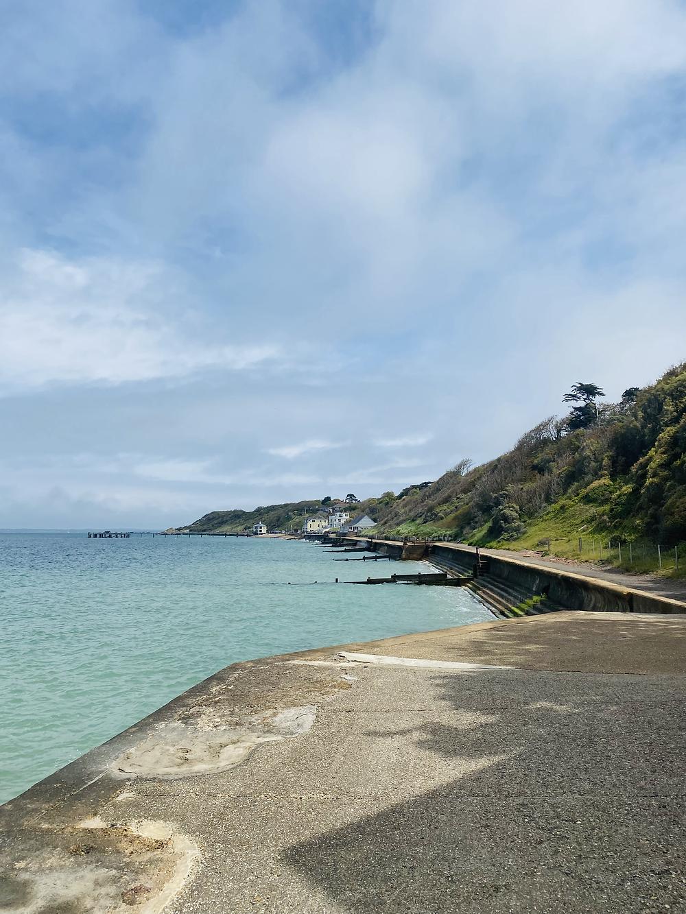 Beach photo at Freshwater Bay, Isle of Wight
