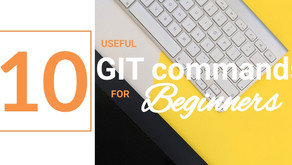 10 useful Git commands for beginners