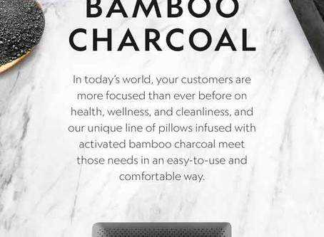 Benefits of Bamboo Activated Charcoal Pillow For Sound Sleeping
