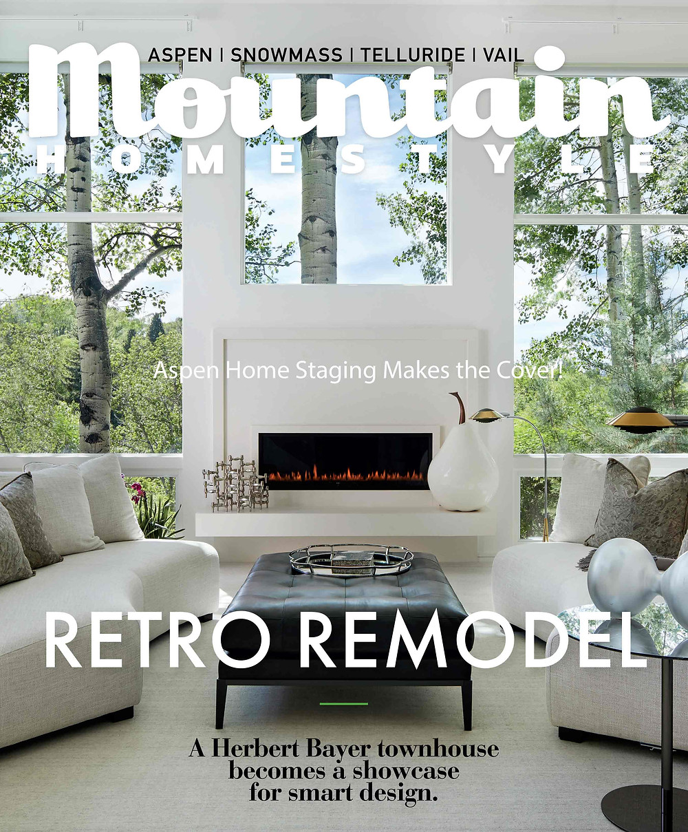 Mountain Homestyle & Aspen Home Staging Featured Home!