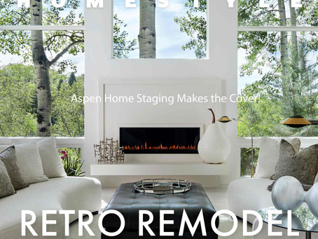 Mountain Homestyle-Aspen Home Staging Makes The Cover!