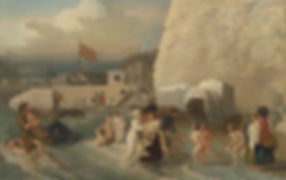 The Bathing Place at Ramsgate - Benjamin West 1788 Wild Swimming History