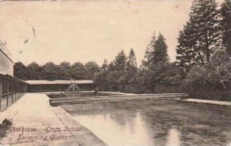 Sherborne Kings School Swimming Baths History