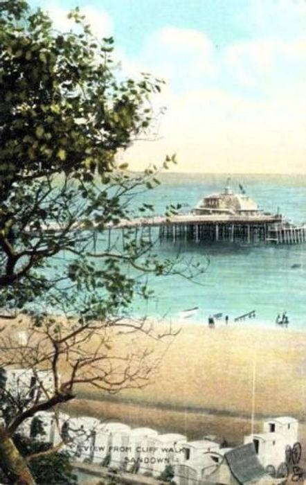 Sandown Bathing Machines and Beach