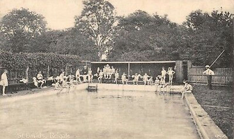 REIGATE St David's School Swimming History