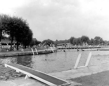 Long Bridges swimming history Oxford