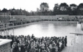 The Opening Ceremony at Parliament Hill Lido