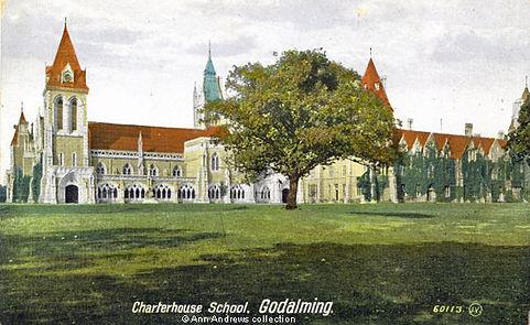 Godalming Swimming Bath Charterhouse School History