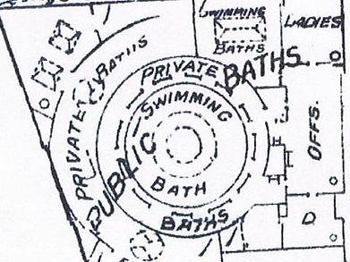Bath Lane swimming Baths Leicester