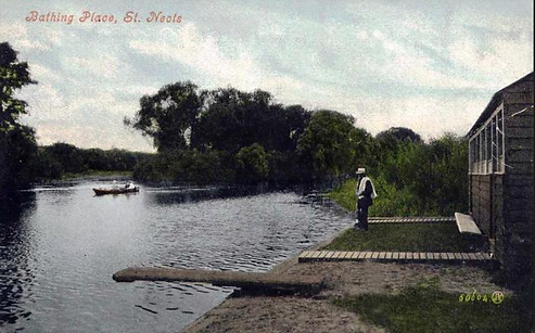 St Neots river bathing place
