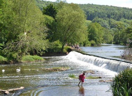 Wild Swimming – Claverton Weir, near Bath