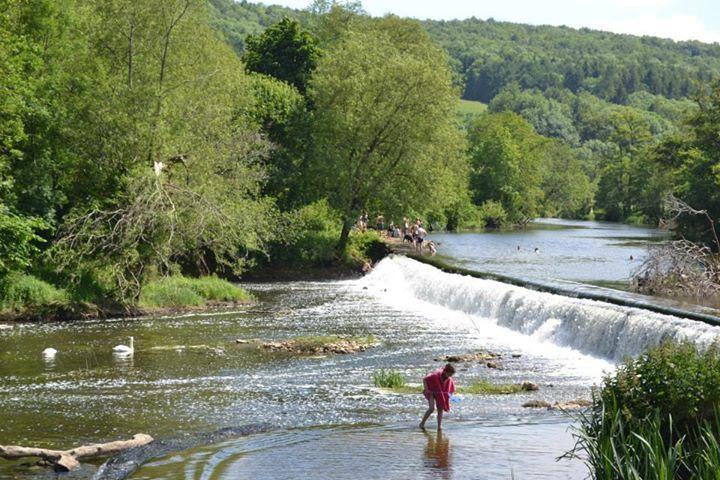 Wild Swimming –  Claverton Weir, near Bath