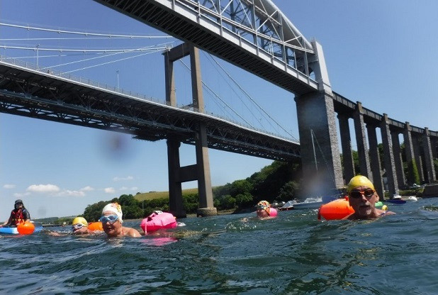 Outdoor Swimmers Cross Tamar