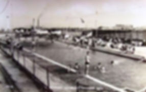 Hampshire Southsea swimming pool 1950s.