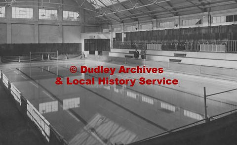 Dudley Public Bath, Blowers Green. Swimming History