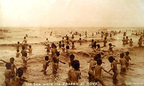 Hove Sea Bathers Wild Swimming History