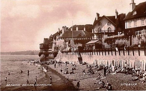 Sea Bathing Sidmouth, Swimming History.