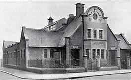 Bradford swimming history Public Baths, Manningham