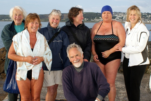 Swimming with the Belles of Penzance