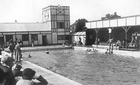 Winsford Baths Station Road Swimming His