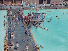 See Photos of Summertime Fun in Pools Around the World
