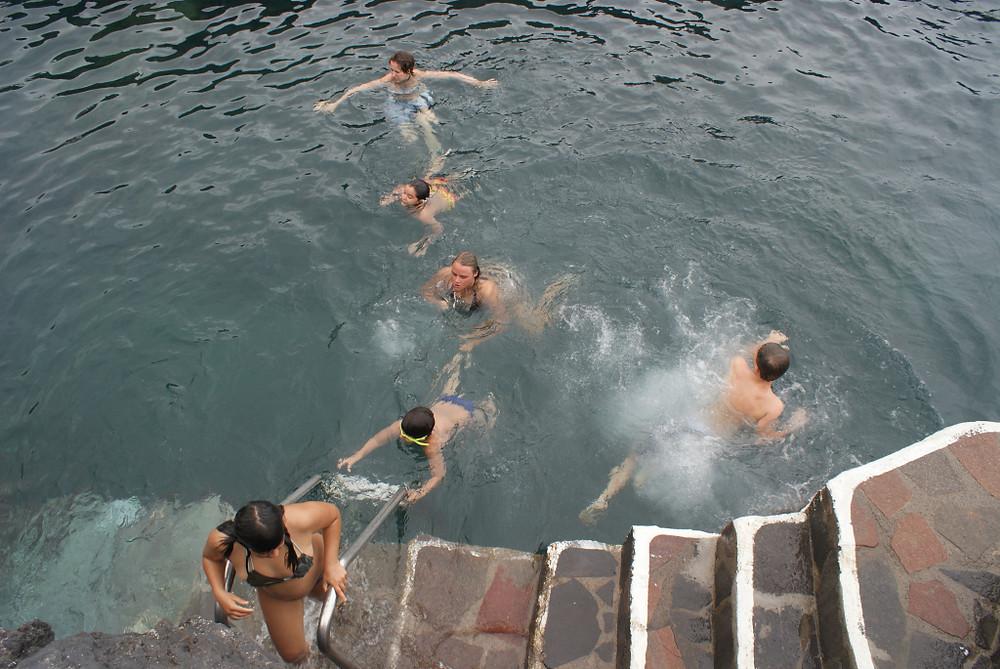 Wild Swimming Garacghico Tenerife