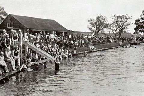Penrith Bathing Place Swimming History.j