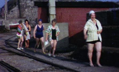 SEAHAM HARBOUR Bathing Belles Swimming History