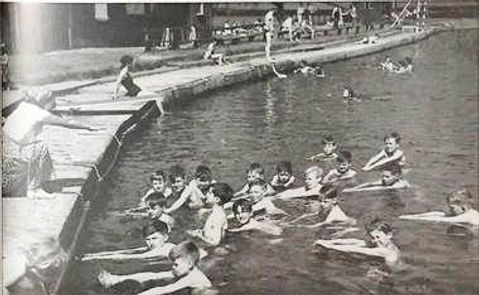 Penrith Swimming History Bathing Place