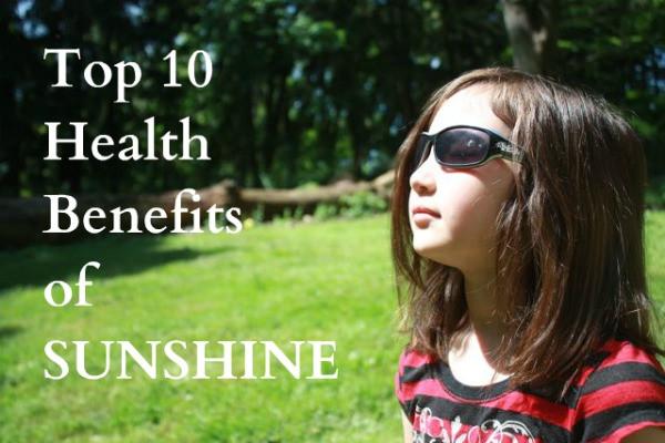 The top 10 Health Benefits of Sunshine